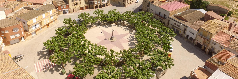 Plaça dels Arbres - Ajuntament de Llardecans