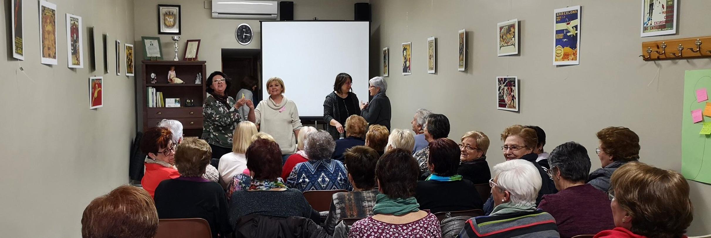 Èxit de la xerrada sobre igualtat pel dia de la dona - Ajuntament de Llardecans