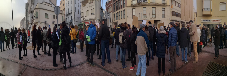 Concentració contra el macroabocador de Riba-Roja d'Ebre - Ajuntament de Llardecans