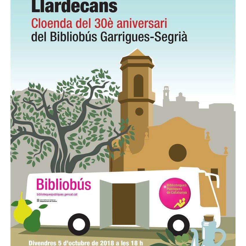 Cloenda aniversari Bibliobús Garrigues-Segrià