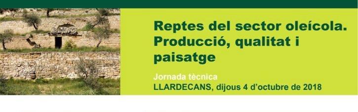Jornada tècnica: Reptes del sector oleícola - Ajuntament de Llardecans
